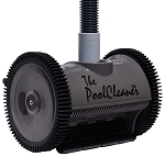 Poolvergnuegen ThePoolCleaner 2-Wheel Suction-side Cleaner - Black