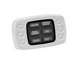 Goldline Hayward Wired 6 Function Spa Side Remote