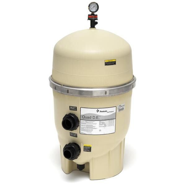 how to clean pentair pool filter