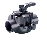 Jandy 3-Way Grey Valve Positive Seal, 1-1/2