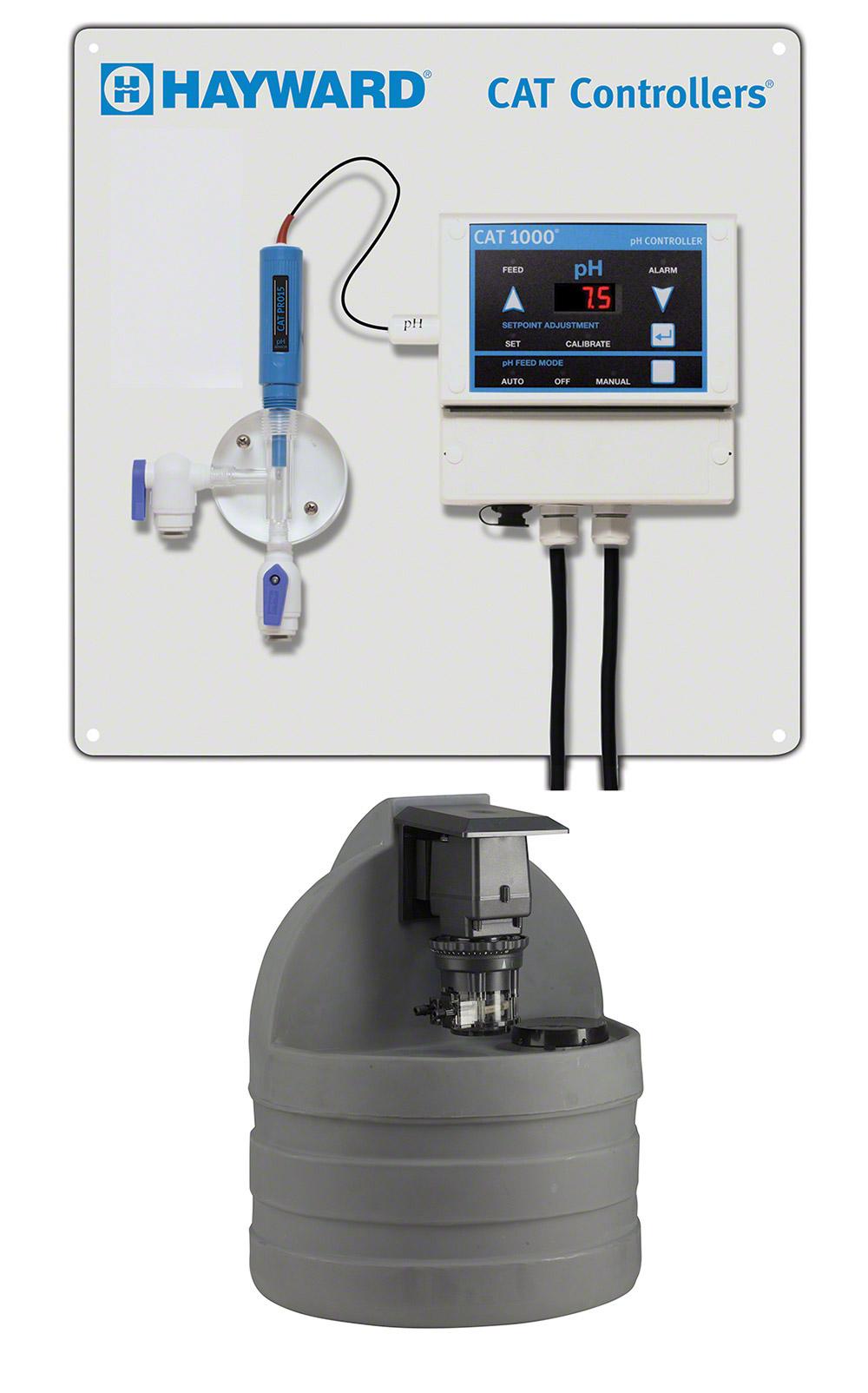 Hayward CAT 1000 pH controller w/ Pump and Tank Combo