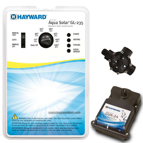 Hayward Aqua Solar Gl 235 Pool Control With Valve