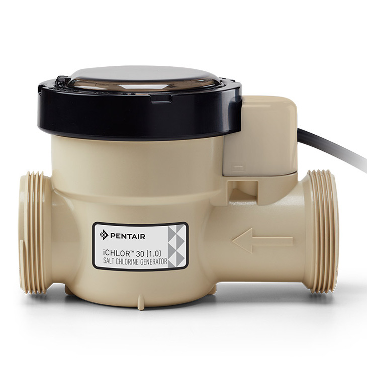 Pentair Ichlor Salt Chlorine Generator System 30k Gallons