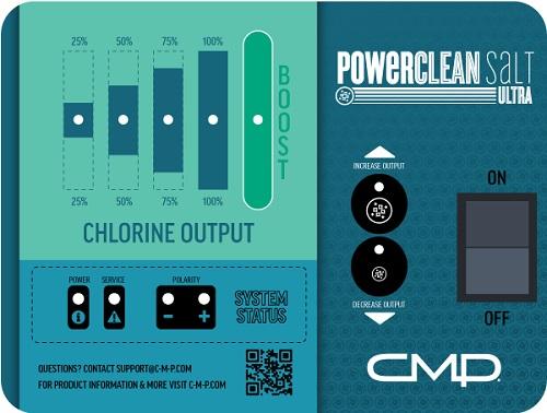 Cmp Powerclean Salt Ultra 760 Salt System For 60k Gallons