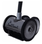 Poolvergnuegen ThePoolCleaner 4-Wheel Suction-side Cleaner - Black