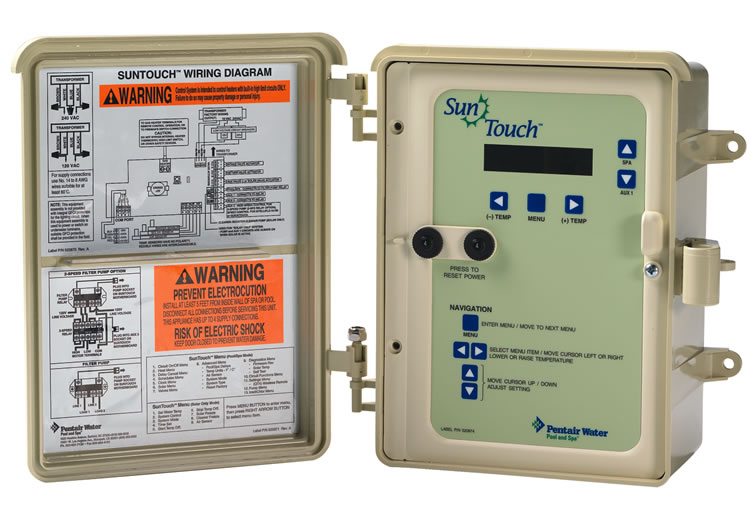 Pentair Suntouch Pool And Spa Control System