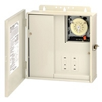 Intermatic T10004RT1 Control Center w/ 220v Single Timer & 100W Transformer