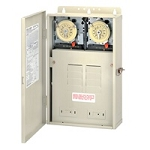 Intermatic T30404R 100 AMP Control Center w/ Dual Timer 240v
