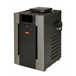 Raypak Commercial RP2100 399K BTU Natural Gas Pool Heater, Digital Cupro-Nickel ASME #010201