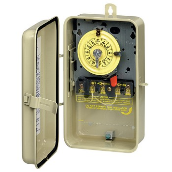 Intermatic Time Switch in Metal Enclosure 110v, SPST