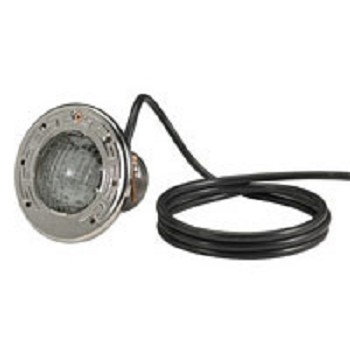Pentair SpaBrite 60W, 120v Light w/ 100' Cord S/S Face Ring