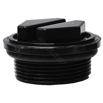 19B - Plug, 1-1/2 in. drain with O-ring for filters after 11/98