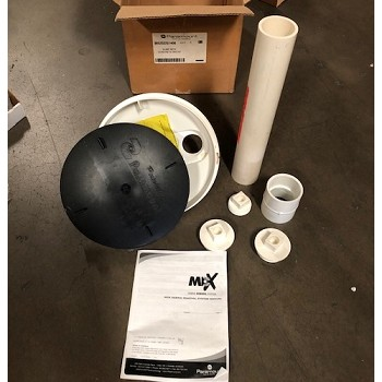 Paramount MDX Concrete Sump with Cap - White