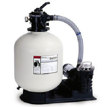"Pentair SD60 22"" Sand Filter System w/ 1.5 HP Pump and Hose"